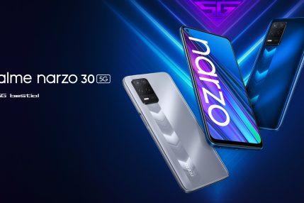 smartfon realme Narzo 30 5G smartphone