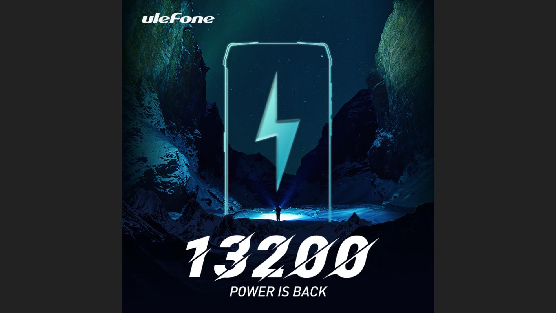 Ulefone 13200 mAh