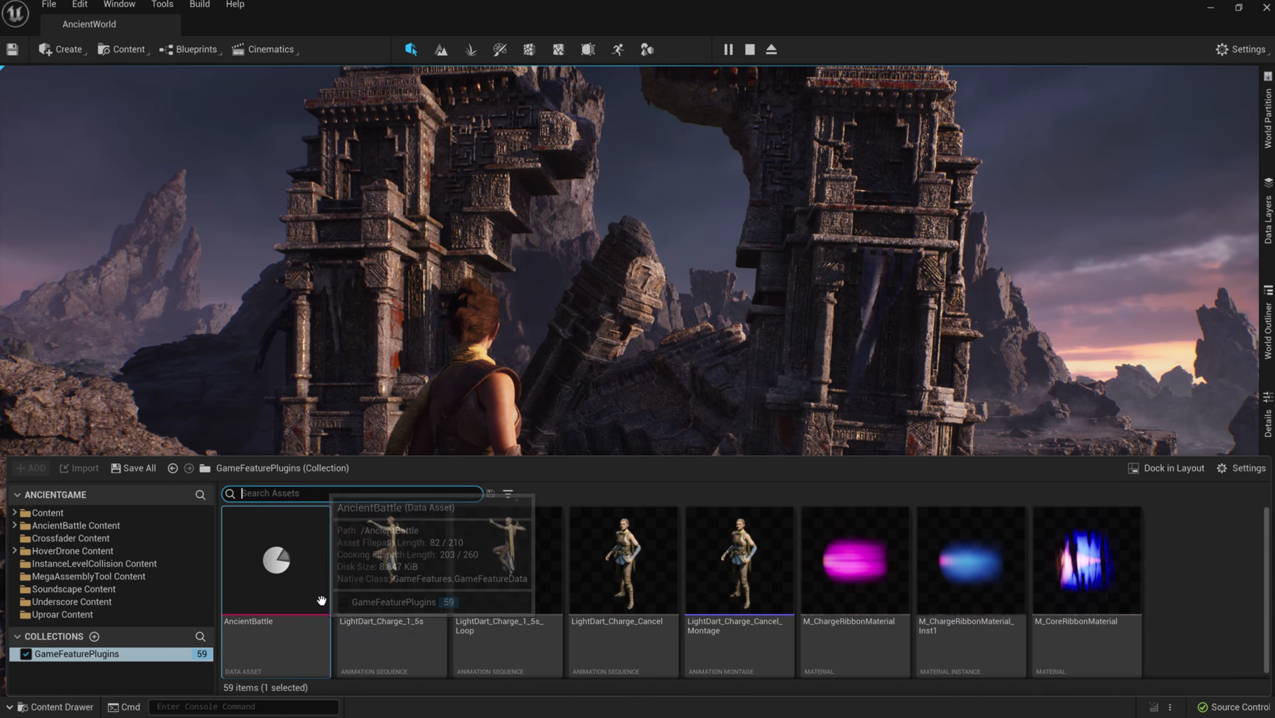 Unreal Engine 5 - Prezentacja YT