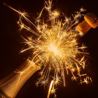 urodziny birthday szampan