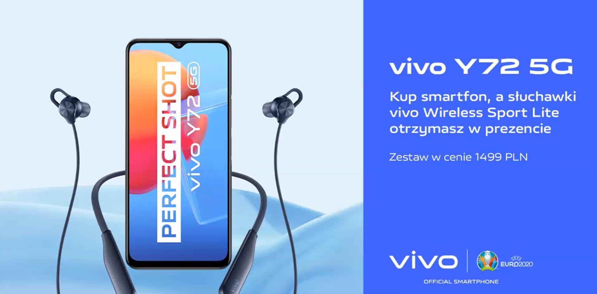 Vivo Y72 5G przedsprzedaż