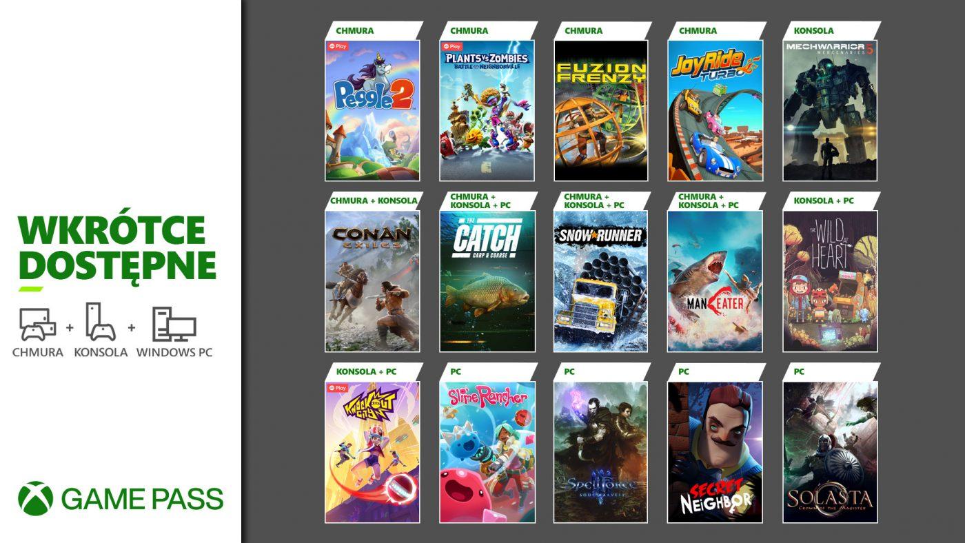 Jeżeli mieliście plany, żeby wychodzić z domu w maju, to Xbox Game Pass ma dla Was kuszącą alternatywę. (źródło: Xbox Wire)