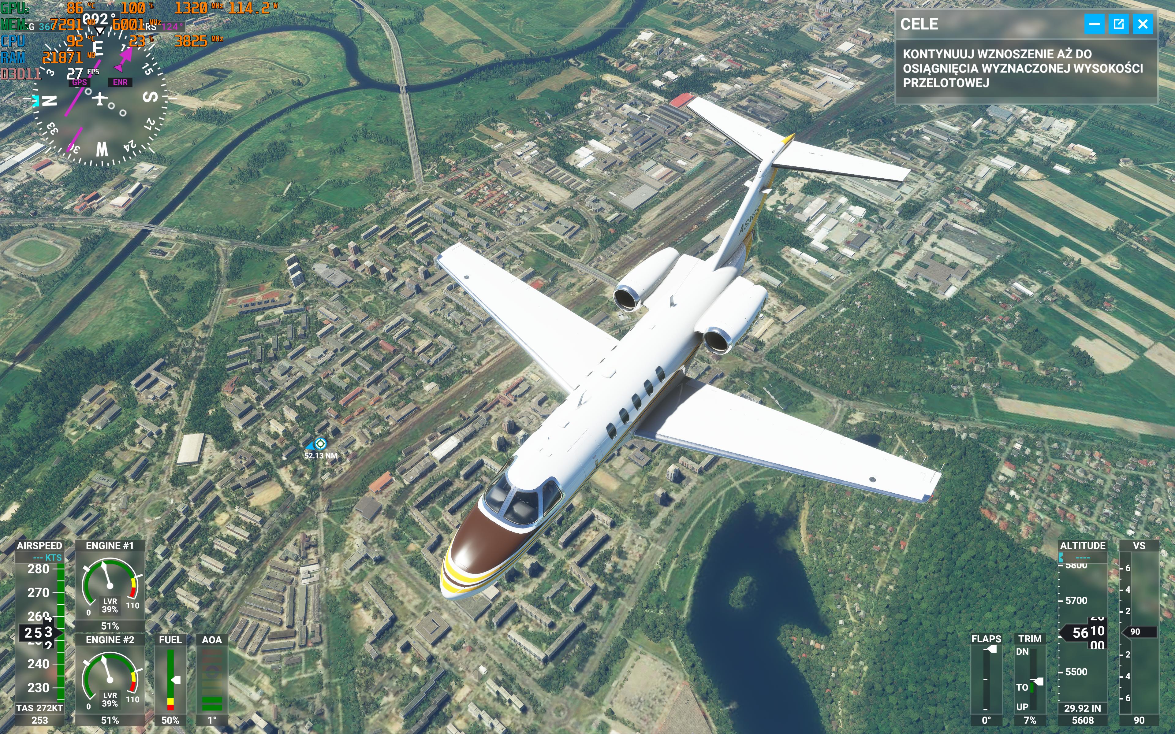 Asus ROG Flow X13 Microsoft Flight Simulator