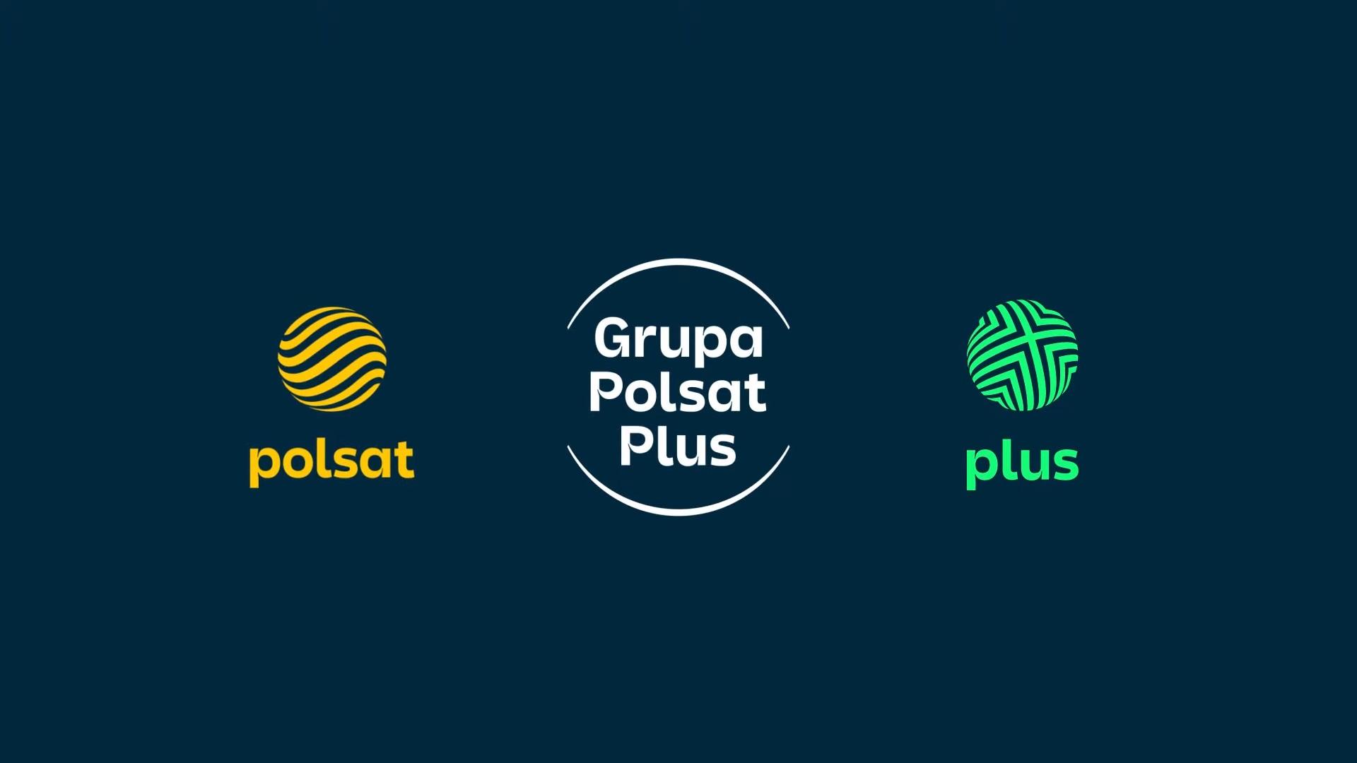 Grupa Polsat Plus nowe logo 2021