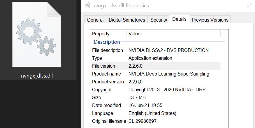 Nvidia DLSS 2.2