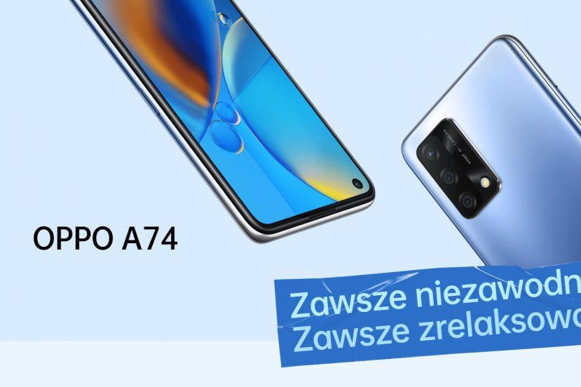 smartfon Oppo A74 smartphone