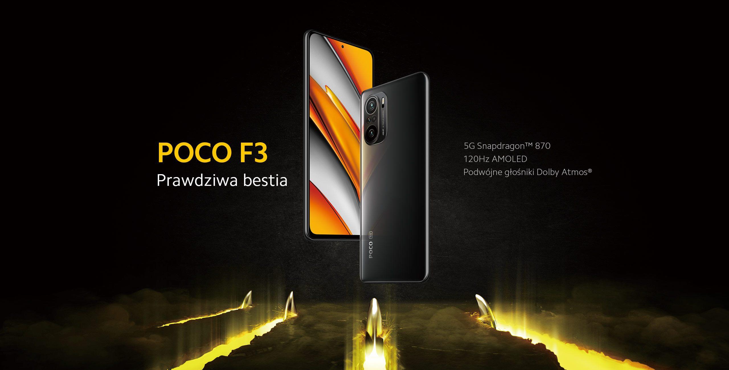 smartfon POCO F3 smartphone