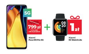 Plus promocja Wakacje 2021 POCO M3 Pro 5G
