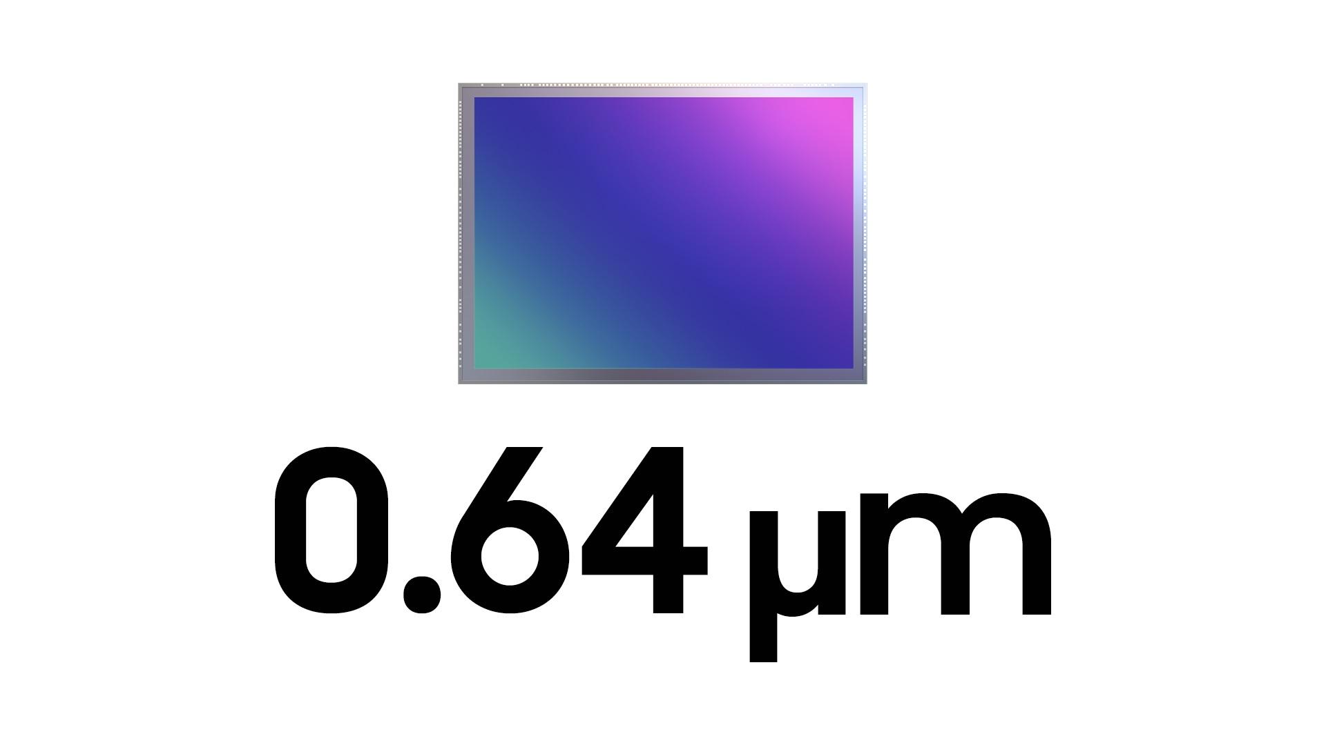 Samsung ISOCELL JN1 50 Mpix sensor aparat