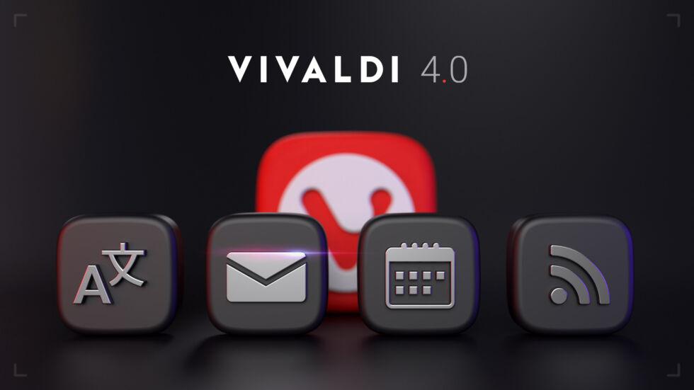 Nowa wersja Vivaldi już dostępna - 4.0