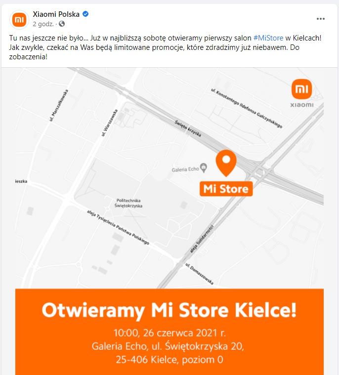 Xiaomi Mi Store w Kielcach