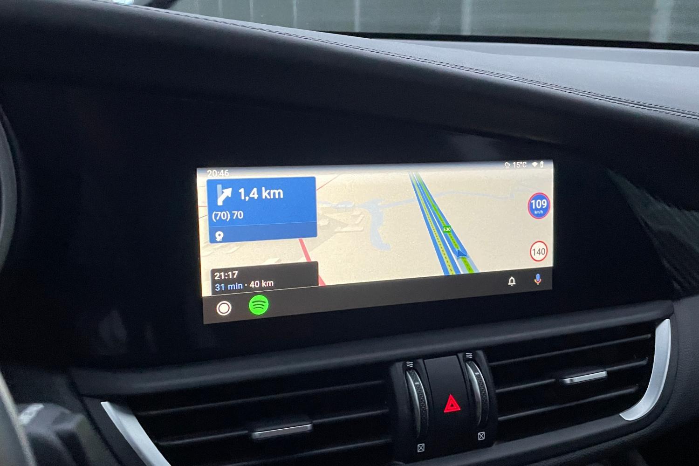 AutoMapa w Android Auto