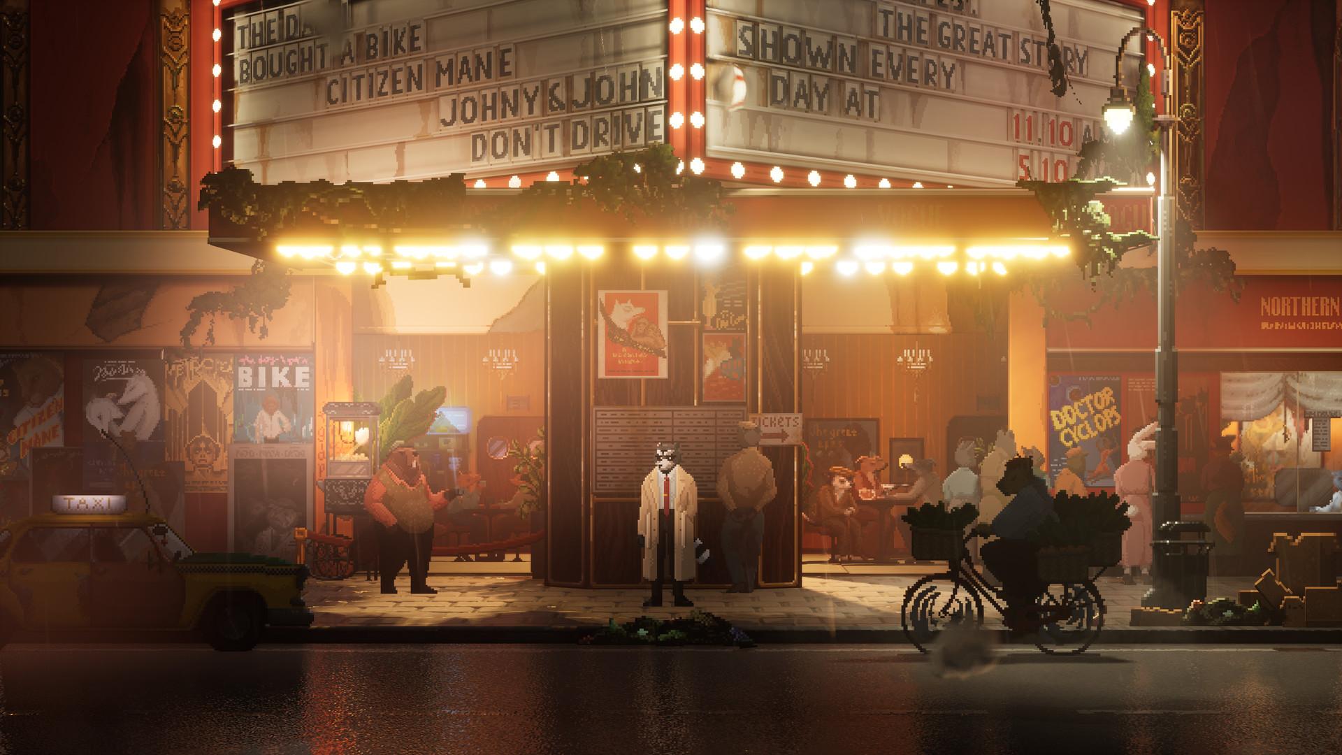 Jak to mówią, pod latarnią najciemniej. W tym przypadku, pod kinem. (źródło: Steam)