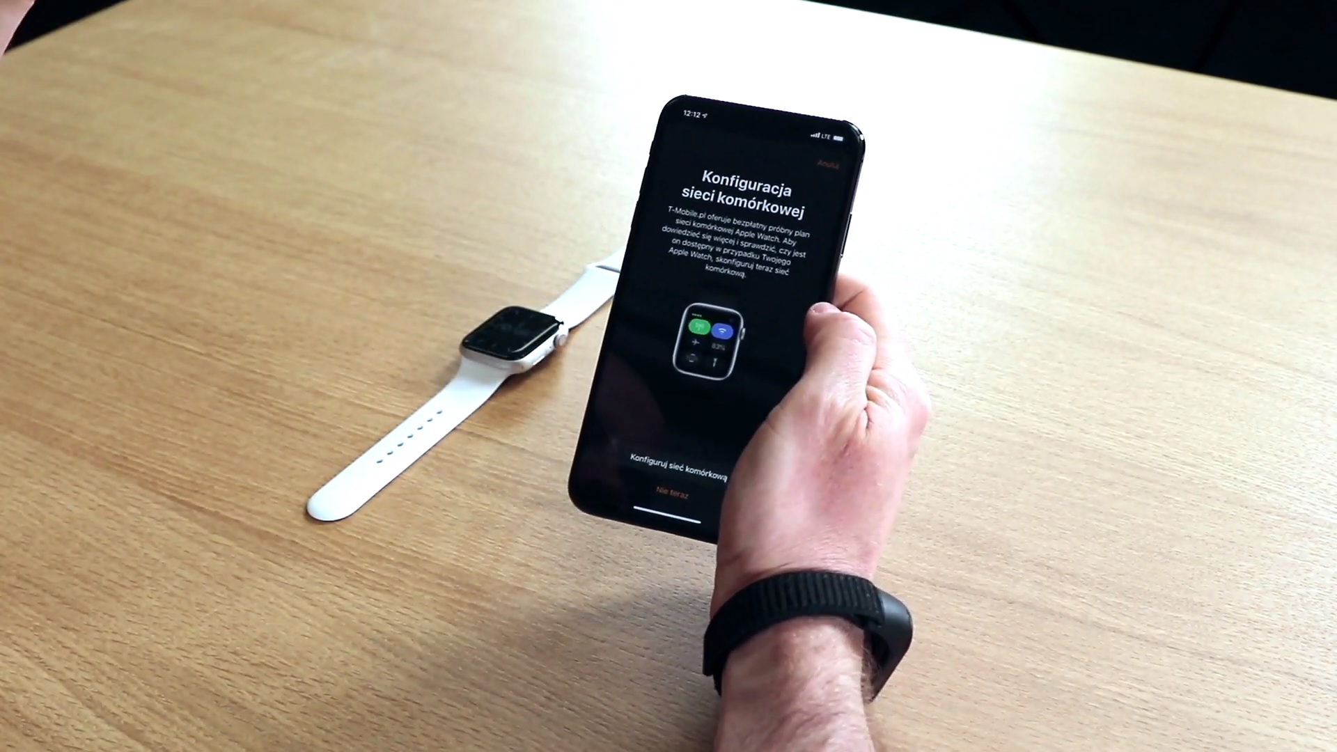 eSIM w T-Mobile Apple Watch