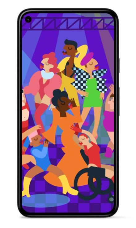 Google Pixel Pride 2021 tapeta wallpaper