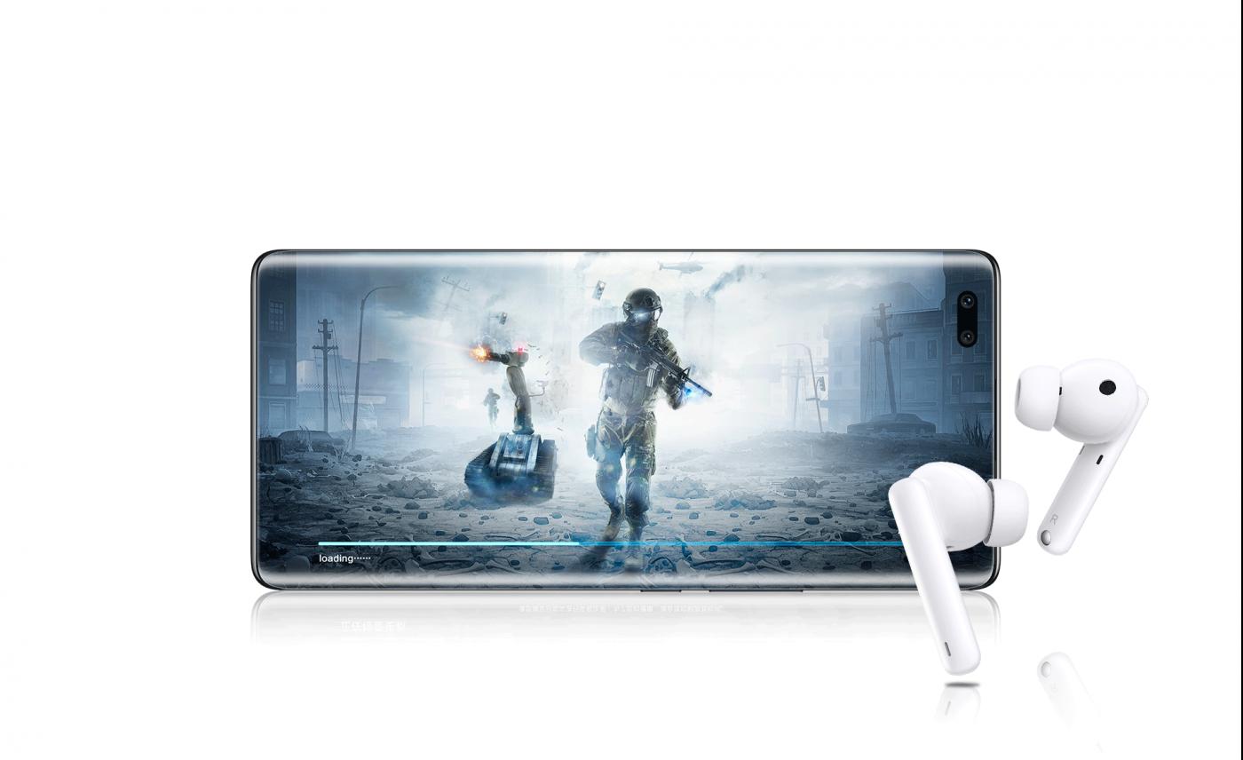 słuchawki bezprzewodowe honor earbuds 2 se tryb gry wireless headphones game mode
