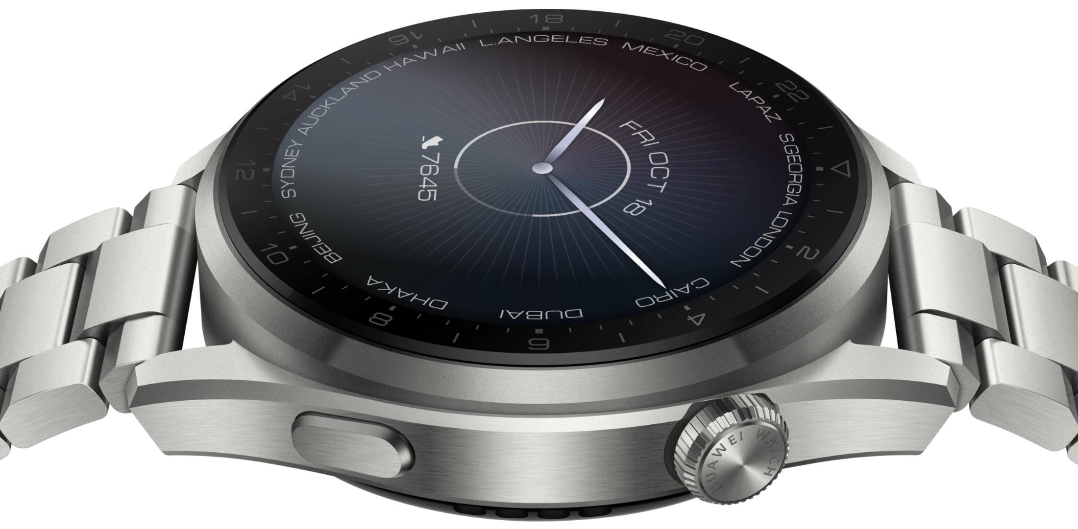 Huawei Watch 3 Pro z HarmonyOS