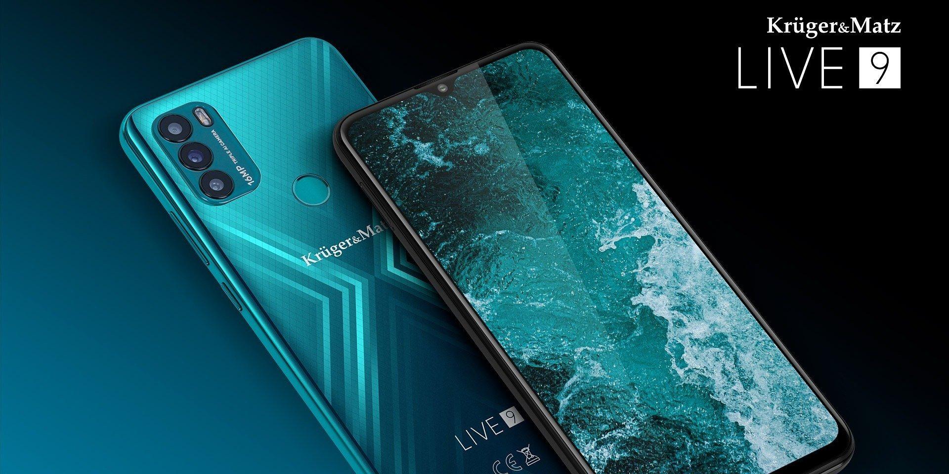 Kruger&Matz LIVE 9 – nie do wiary, że debiutuje już dziewiąty smartfon z tej linii