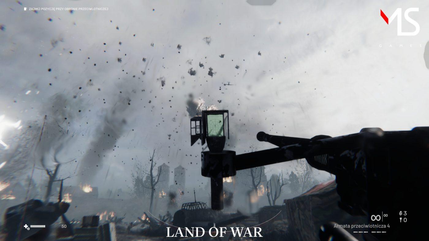 Z samego trailera tytuł zapowiada się widowiskowo. Na ile jednak rzeczywiście pozwolił budżet Land of War? (źródło: Steam)