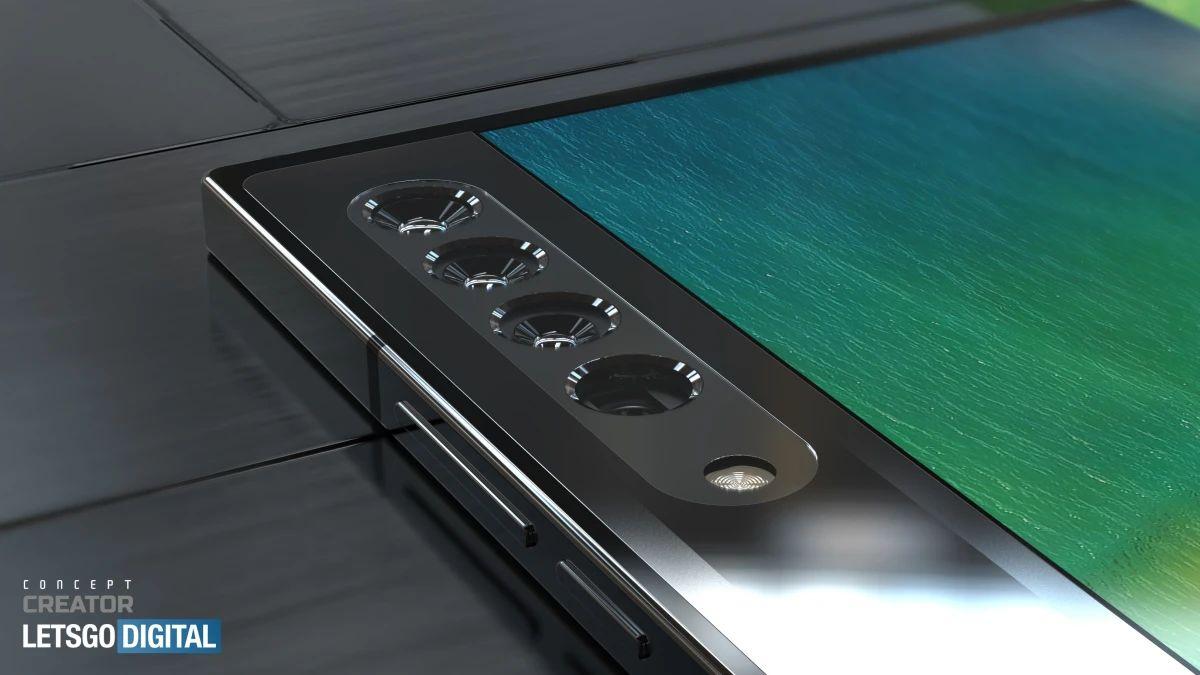 smartfon oppo z zawijanym ekranem koncept oppo smartphone with wrap-around display concept