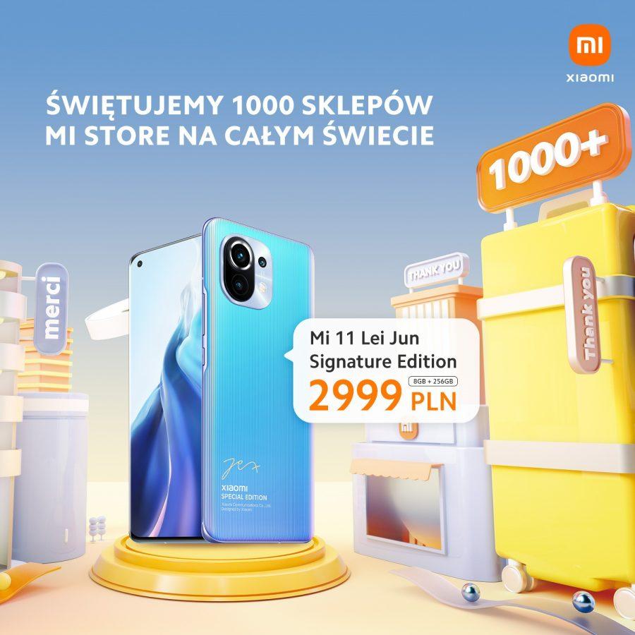promocja Xiaomi Mi 11 Lei Jun Signature Edition za 2999 złotych