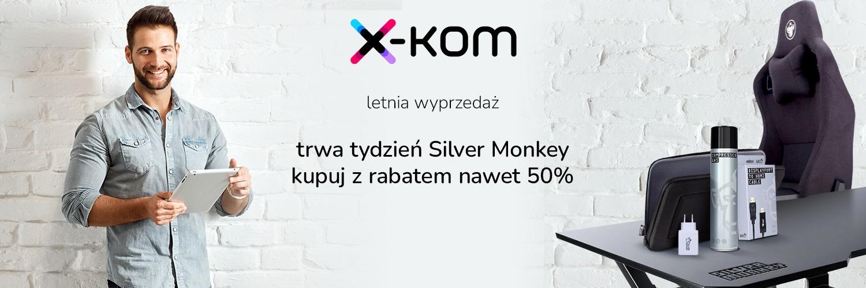 promocja x-kom na produkty marki Silver Monkey