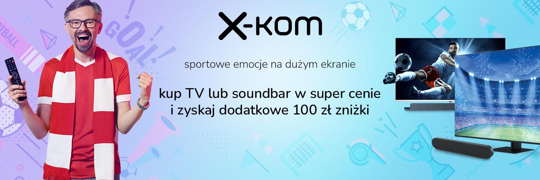 promocja x-kom na telewizory