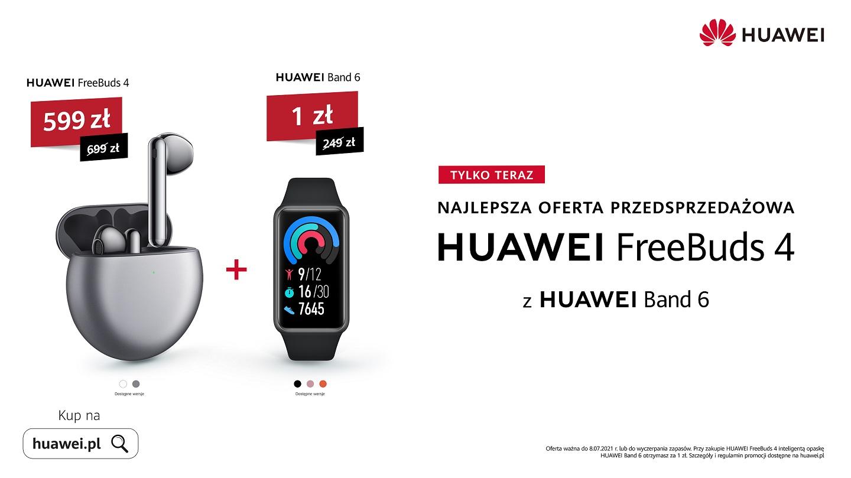 przedsprzedaż słuchawek Huawei FreeBuds 4