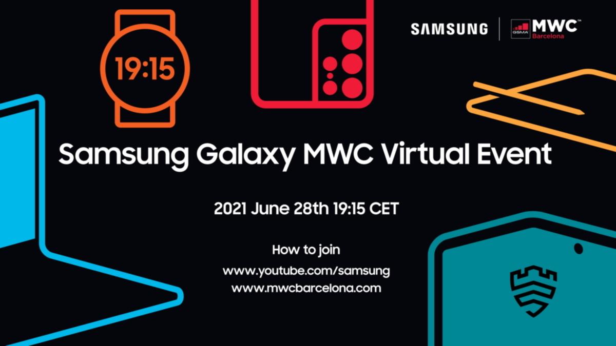 samsung galaxy mwc 2021 virtual event