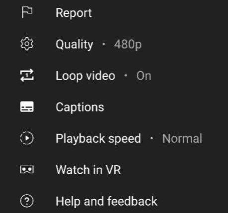 YouTube Android odtwarzanie w pętli