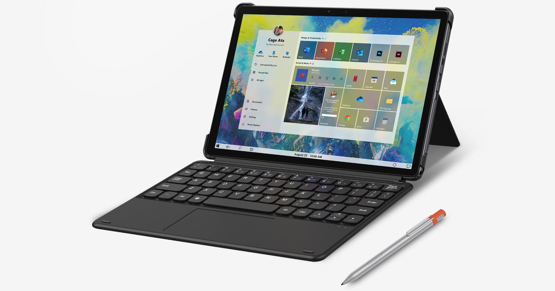 Chuwi Hi10 Go tablet keyboard stylus