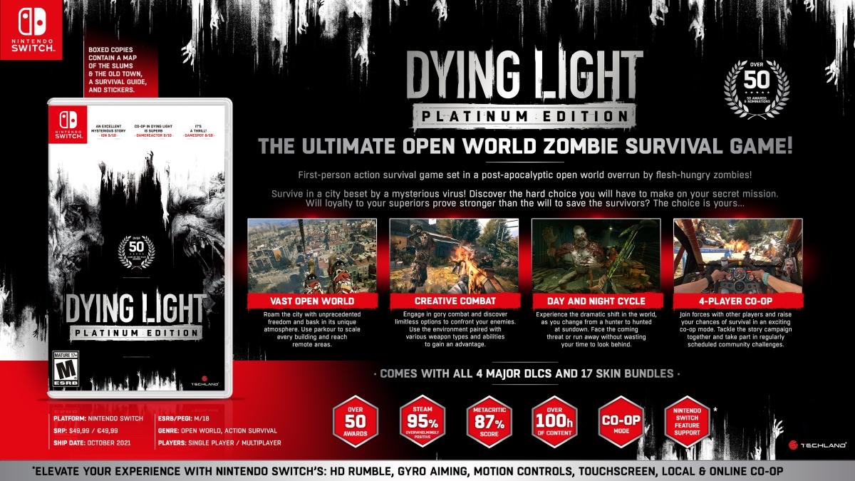 Dying Light Nintendo Switch