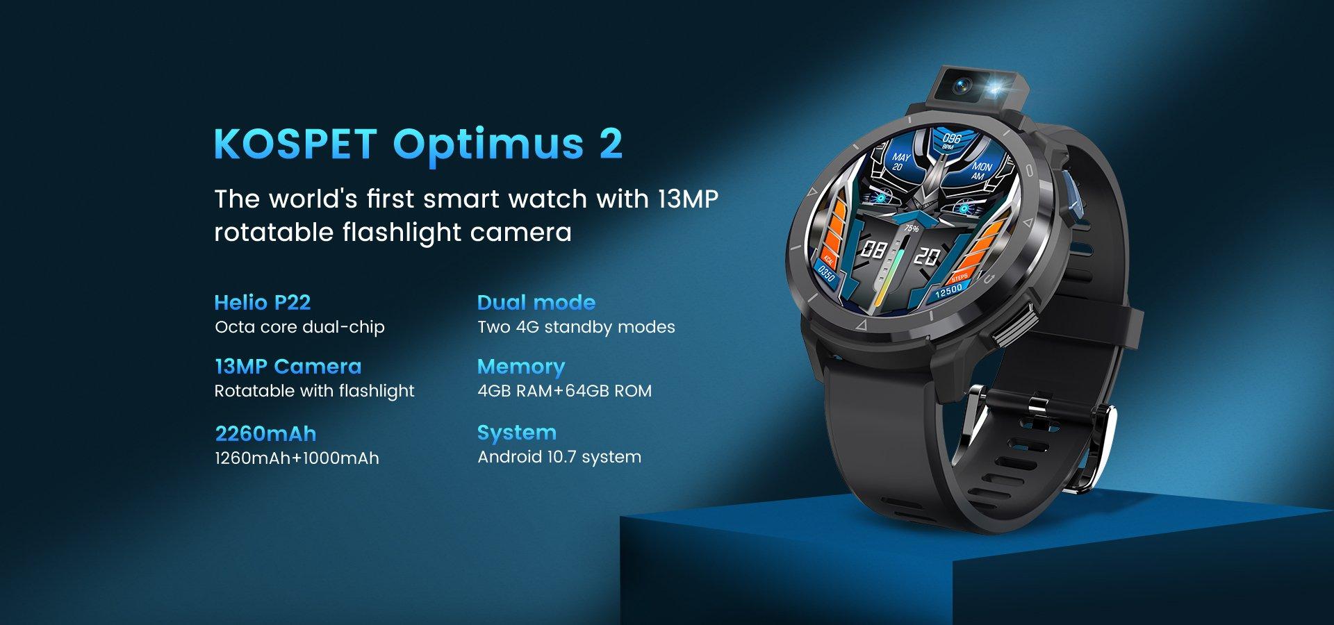 KOSPET Optimus 2 smartwatch
