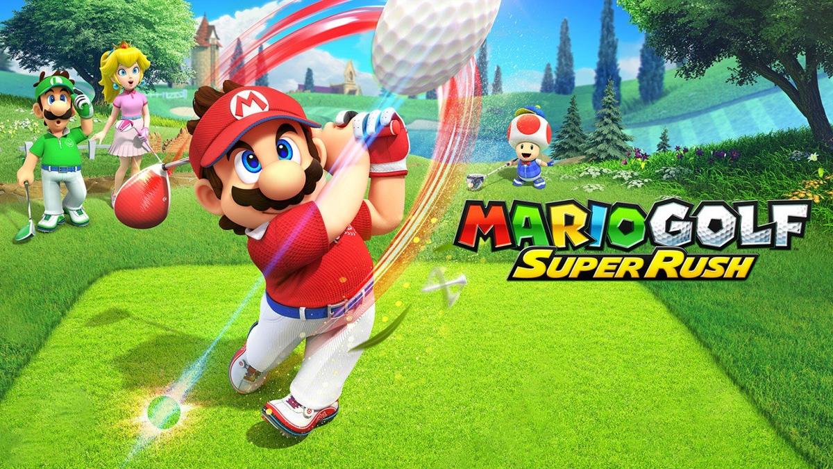 Mario Golf Super Rush Recenzja Tabletowo Nintendo Switch