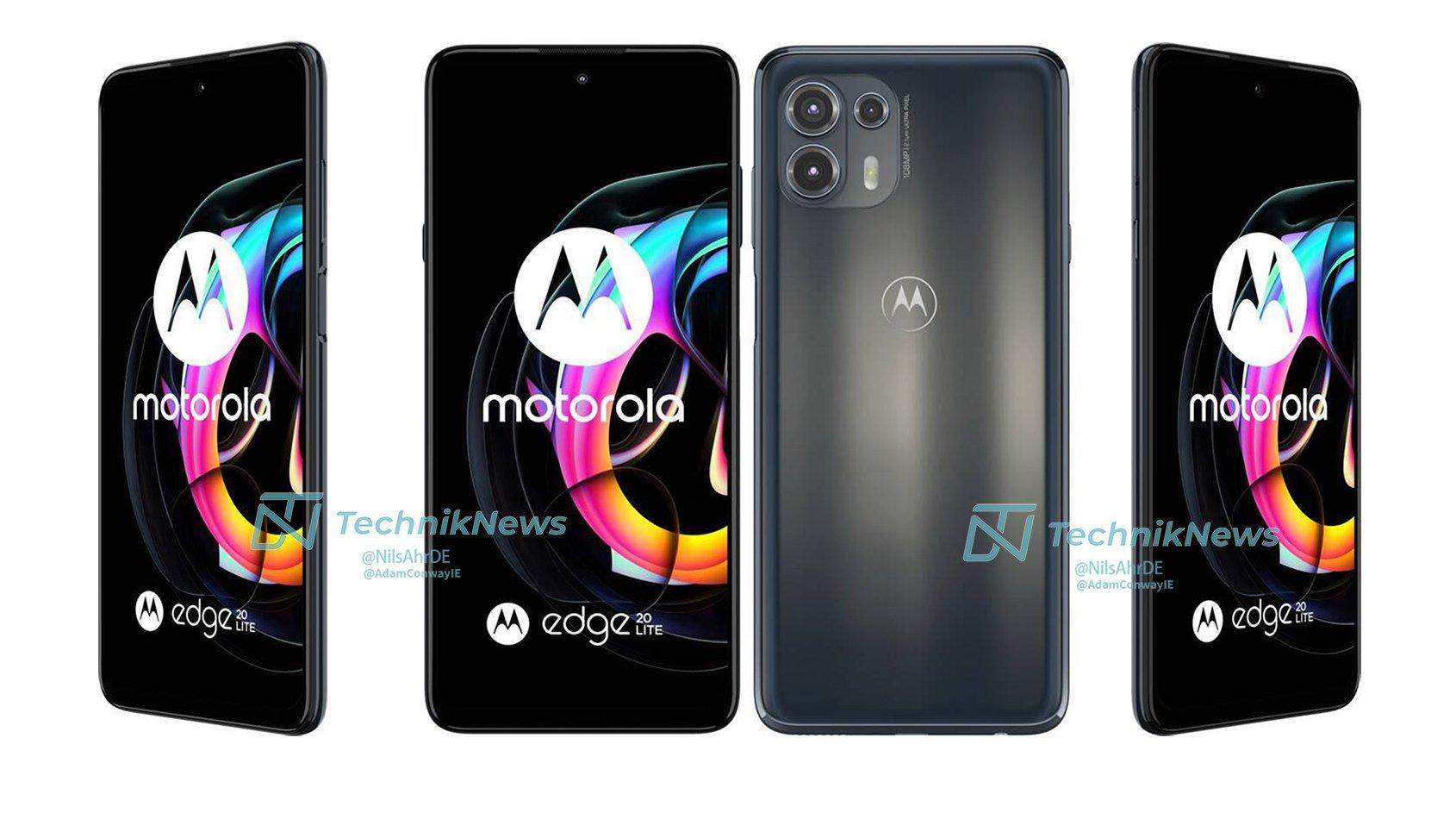 smartfon Motorola Edge 20 Lite smartphone