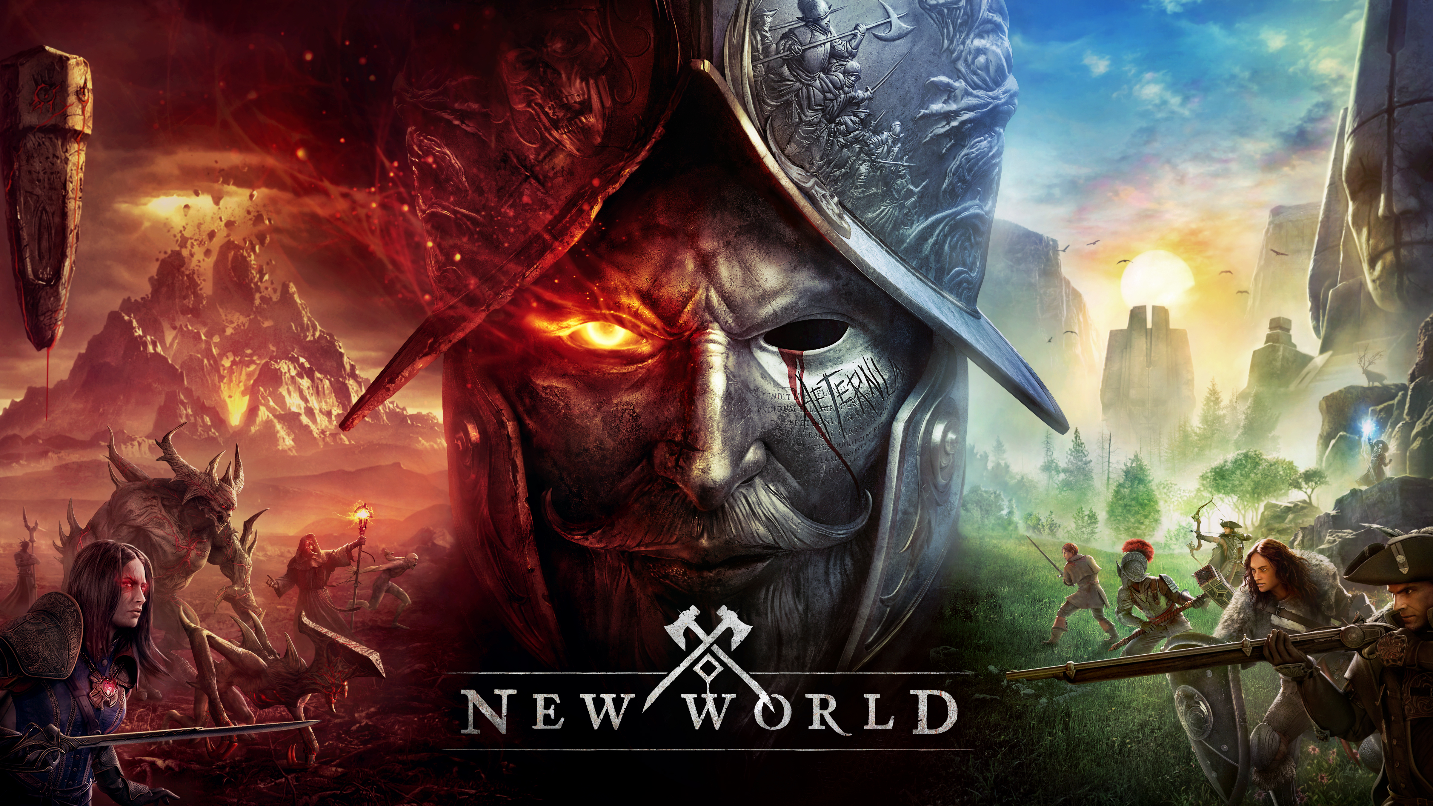 Grafika promująca New World