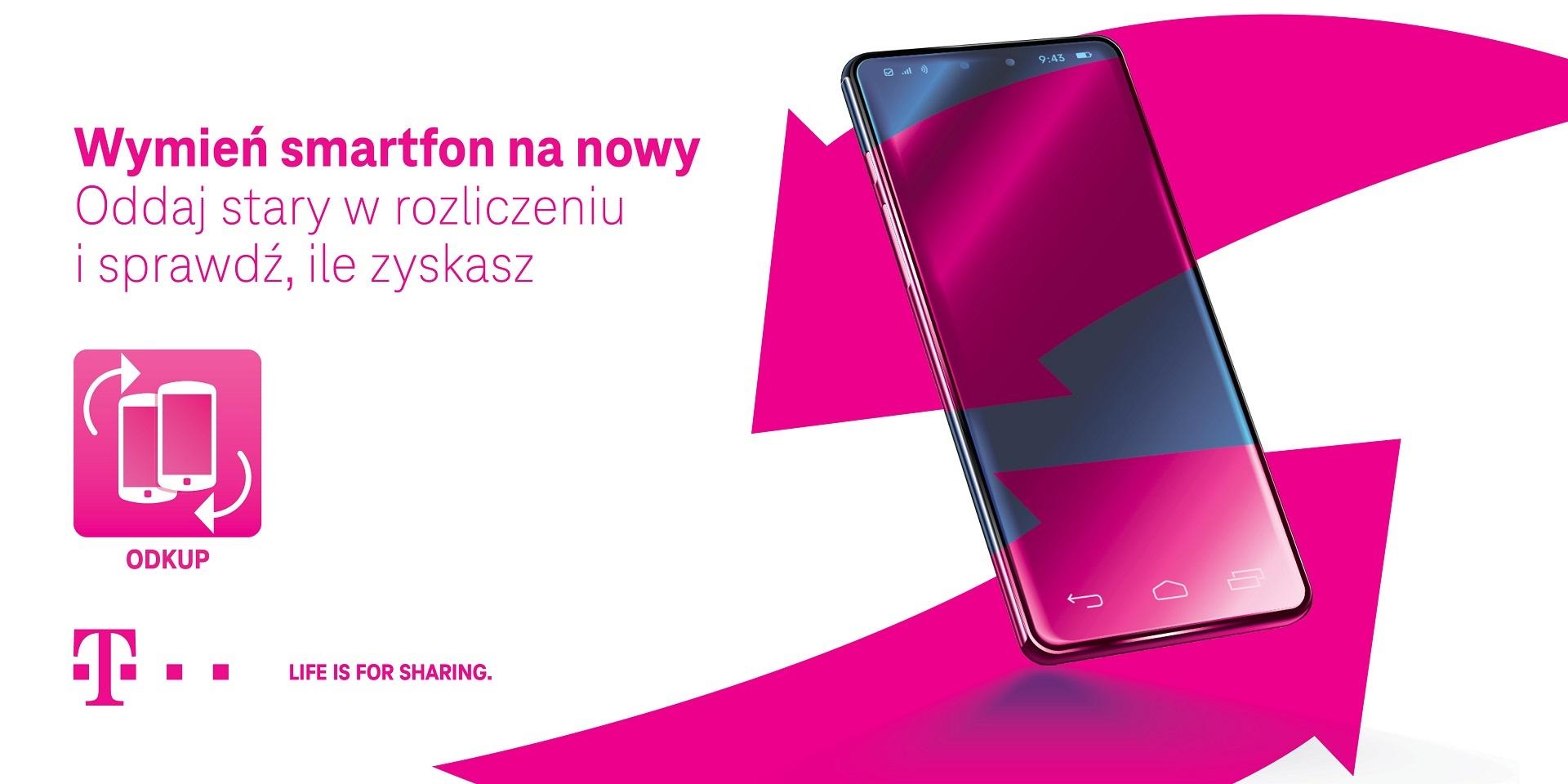 T-Mobile akcja odkup rabat na nowy smartfon