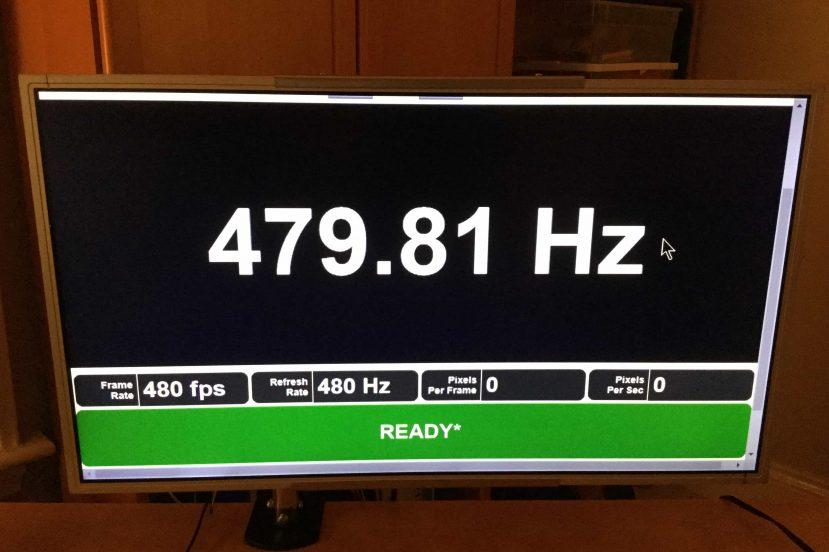 odświeżanie 480 Hz testufo