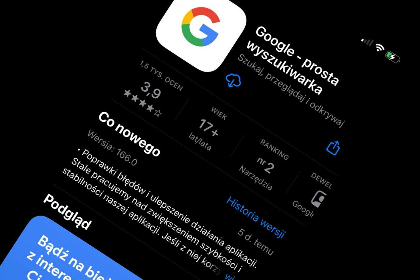 google ios aplikacja app store