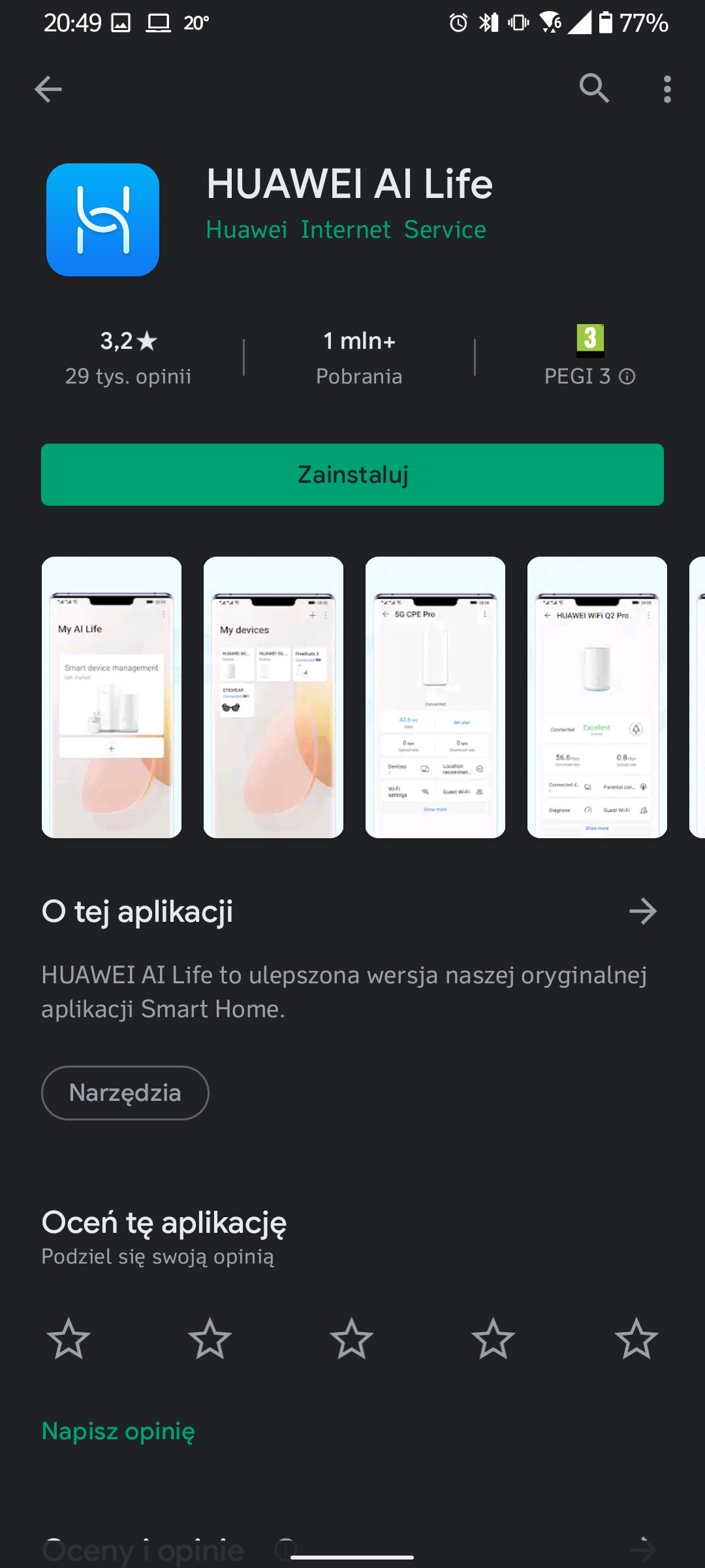 Recenzja Huawei Freebuds 4 - Parowanie z Androidem - fot. Tabletowo.pl