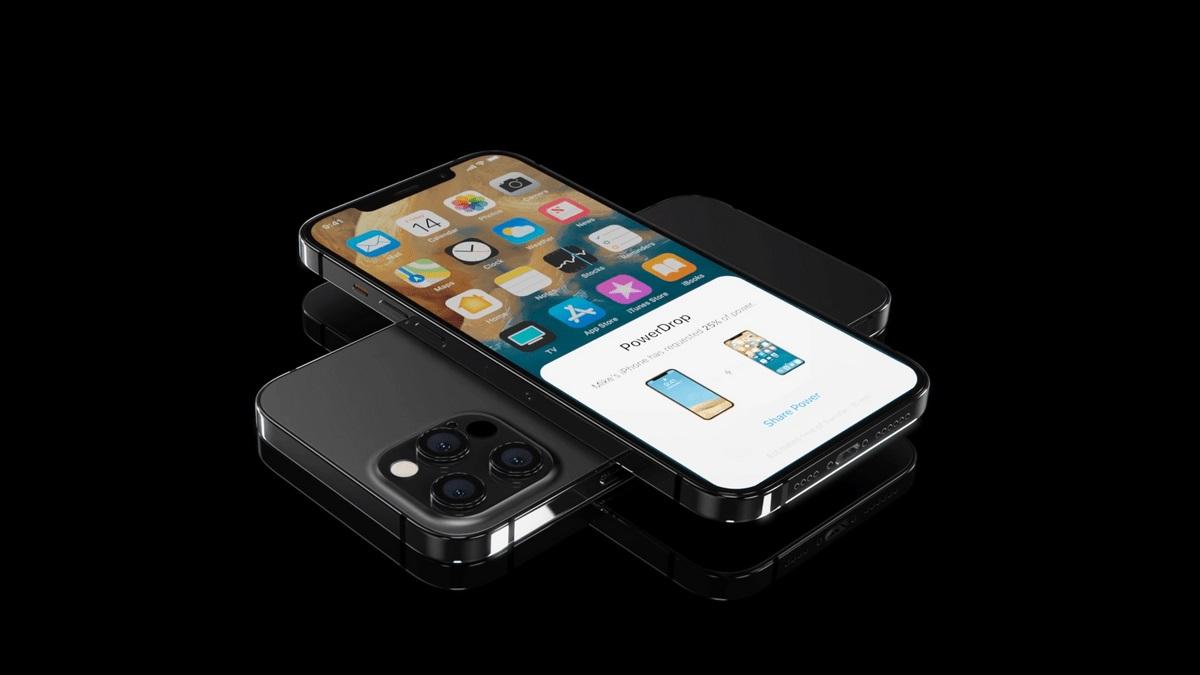 apple iphone 13 bezprzewodowe ładowanie zwrotne wireless reverse charging
