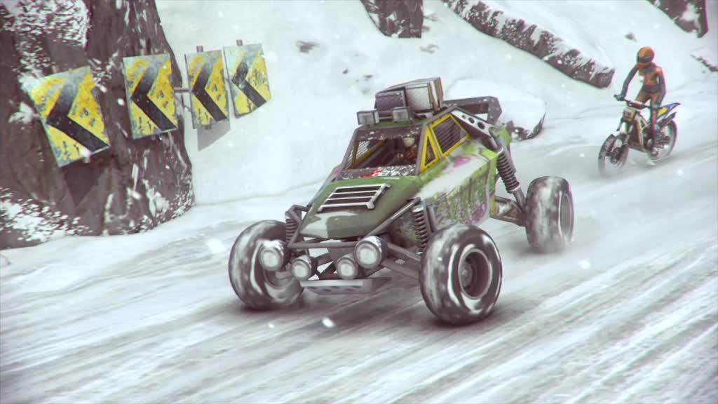 Motorstorm: Arctic Edge to bez wątpienia jedna z najlepszych gier dostępnych na PlayStation Portable (źródło: Gram.pl)
