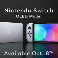 Nintendo Switch OLED oficjalnie zaprezentowany