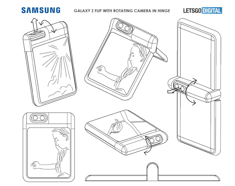 Samsung składany smartfon fot. Let's Go Digital
