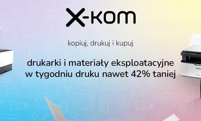 promocja x-kom Tydzień druku