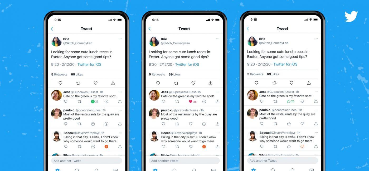 Twitter nowy przycisk