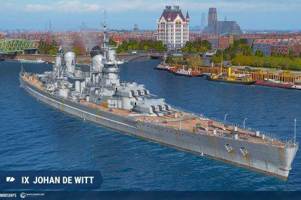 Holenderskie statki już w World of Warships