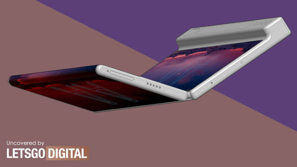 składany smartfon xiaomi patent foldable smartphone