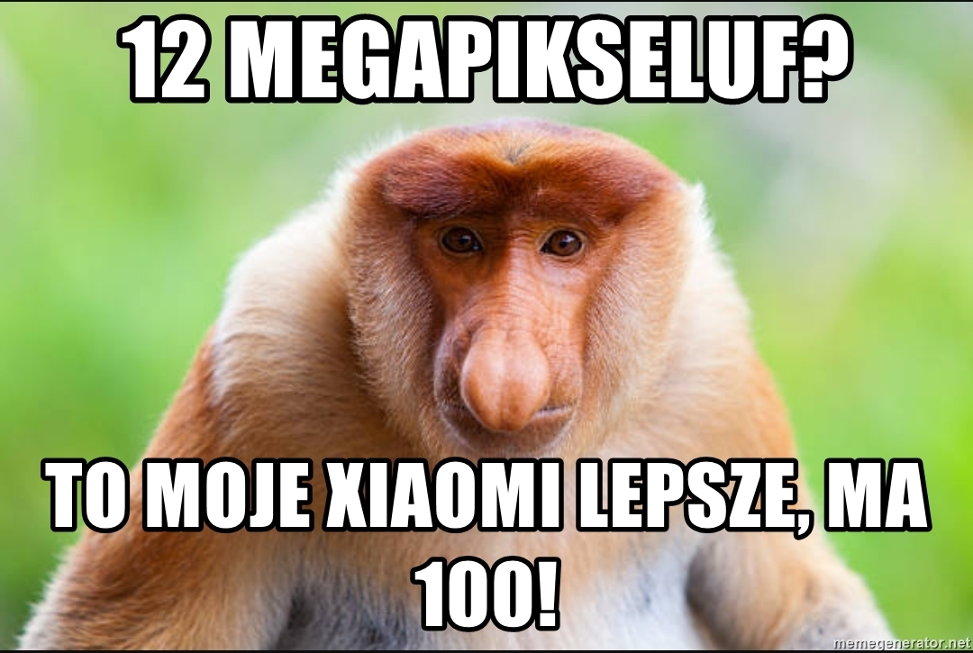Xiaomi lepsze, mem, Tabletowo.pl