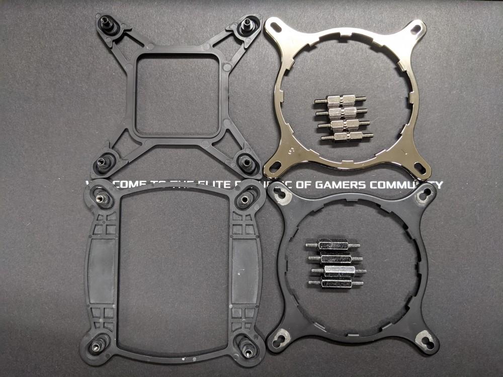 ASUS ROG STRIX LC II zestaw montażowy